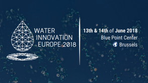 Water Innovation Europe 2018 @ Brussels - Blue Point Center