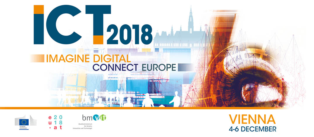 ICT 2018 Conference - SPACE-O presenting at ICT4Water cluster @ Vienna